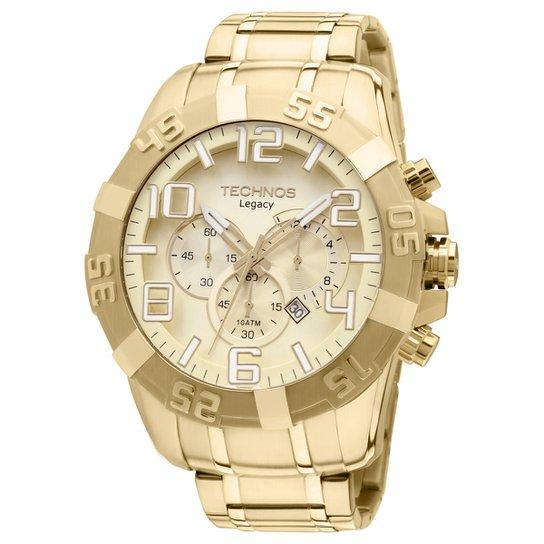 0473eee1d231d Relógio Technos Analógico - Dourado - Compre Agora
