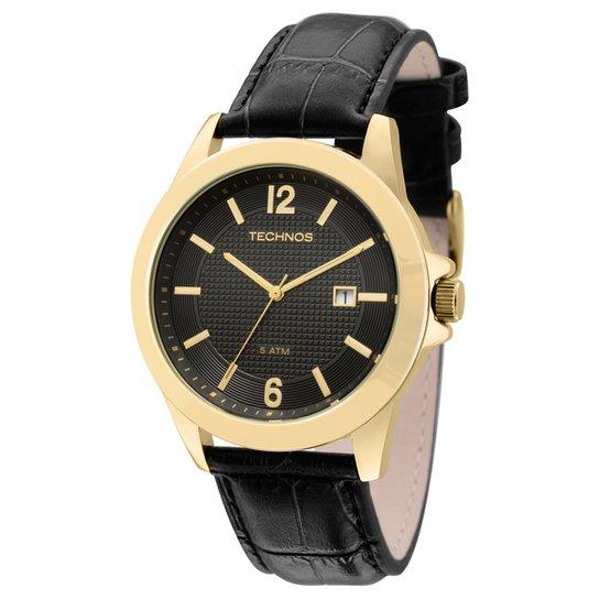 c6a4a11496c3c Relógio Technos Pulseira de Couro - Compre Agora   Netshoes