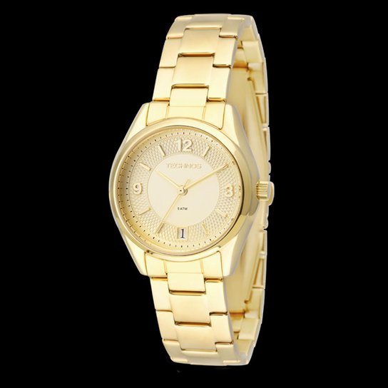 Relógio Technos Pulseira de Aço - Compre Agora   Netshoes 4e7115711a