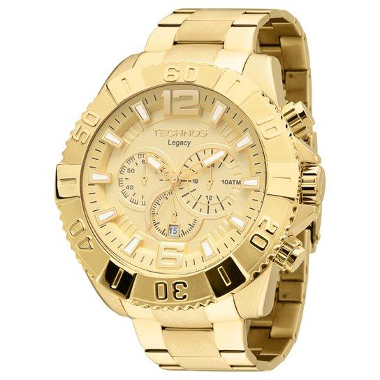 af3f78ef459 Relógio Technos Pulseira de Aço - Compre Agora