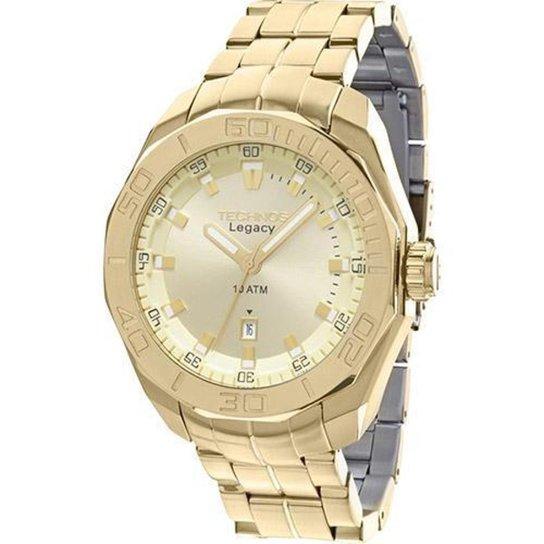 2c652f61caf75 Relógio Masculino Technos Legacy 2315ABI M4X 50mm Dourado - Compre ...