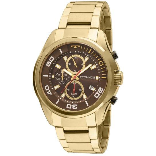 04263b434c7 Relógio Technos Masculino JS15BI4M - Dourado - Compre Agora
