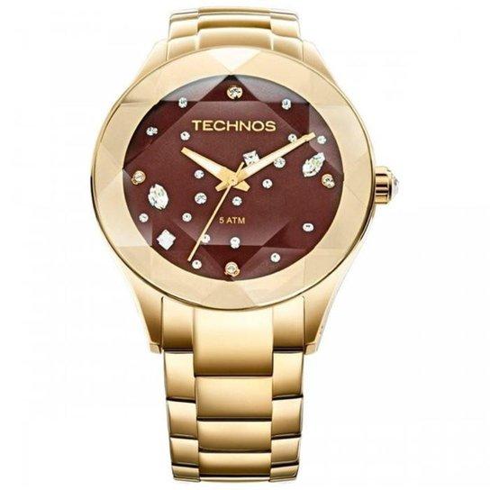 Relógio Technos Elegance Crystal Swarovski 2039AT 4M - Compre Agora ... 08840ceb0c