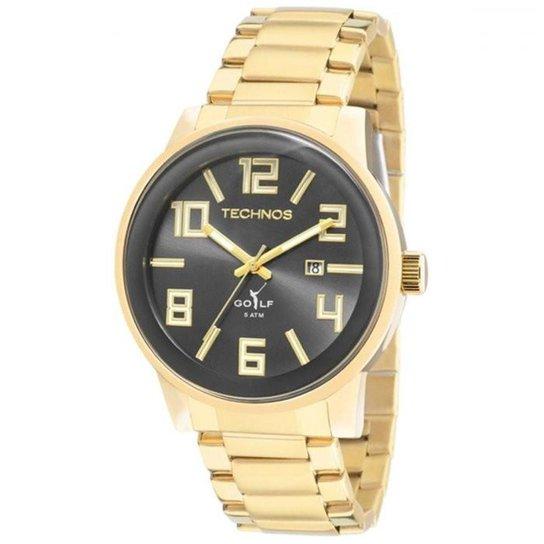 857163e6a4e Relógio Technos Classic Golf 2115KQU 4C - Dourado - Compre Agora ...