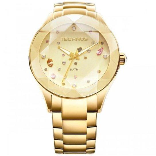 e1124f56a2c Relógio Technos Elegance Crystal Swarovski 2039AT 4X - Compre Agora ...