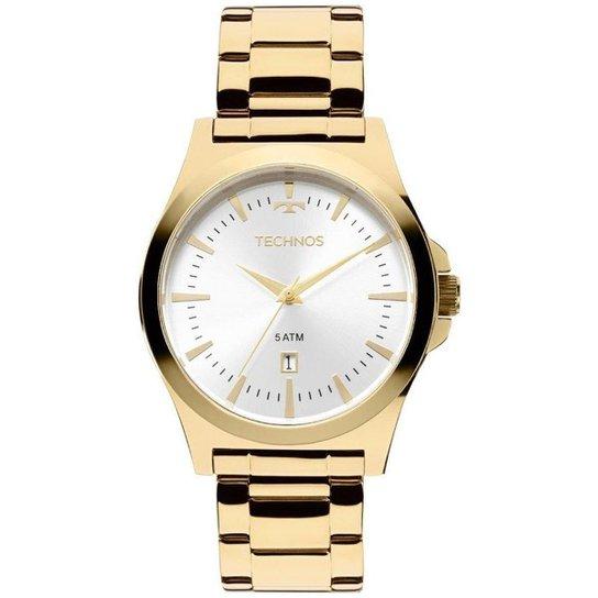Relógio Technos Masculino 2115LAM 4K - Dourado - Compre Agora   Netshoes bcce8f26c7
