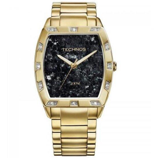 Relógio Technos Feminino Elegance St. Moritz - Dourado - Compre ... 987005f362
