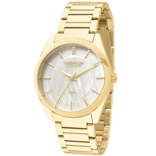 c9a0e70f5d9 Relógio Feminino Technos Analogico Elegance Crystal - Compre Agora ...