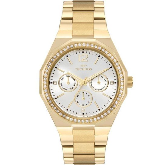 d023e302ba0 Relógio Feminino Technos Ladies 6P29ajc 4K - Dourado - Compre Agora ...