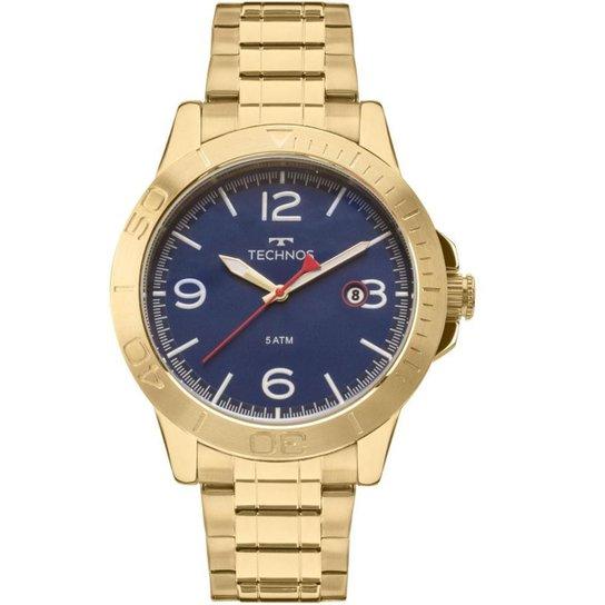 5b6f280316ffd Relógio Technos Masculino Racer - 2315KZP 4A 2315KZP 4A - Dourado ...