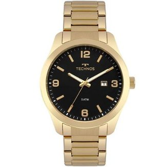 94aa8aa3955 Relógio Technos Masculino Steel - 2115MPL 4P 2115MPL 4P