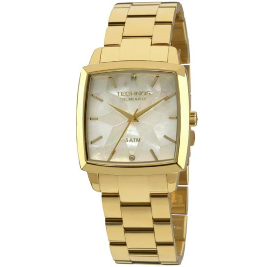 Relógio Technos St.Moritz Feminino Analógico - 2036LNP 4B 2036LNP 4B -  Dourado 9b77b33a97