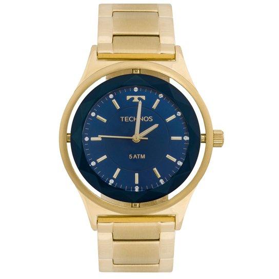 6cd6a302e18 Relógio Technos Crystal 2035MIC 4A 2035MIC 4A - Dourado - Compre ...