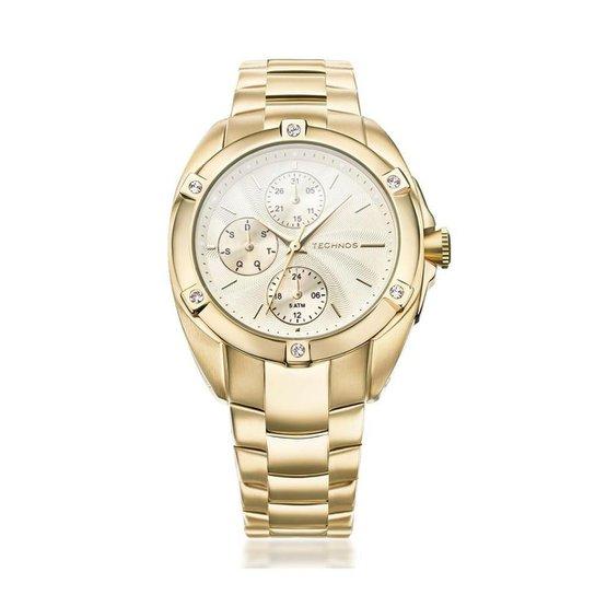 4a921e3b5d117 Relógio Technos Feminino Analógico 6P27DK 4X 6P27DK 4X - Compre ...