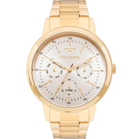5e1989ca632 Relógio Technos 6p29ajf 4b Feminino - Dourado - Compre Agora