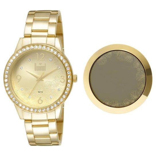 70775076add Relógio Dumont Feminino VIP DU2036LTS 4D - Compre Agora
