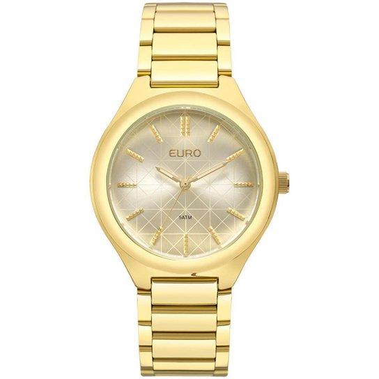 d3e7a243889 Relógio Euro Feminino Metal Trendy EU2035XYT 4X - Dourado EU2035XYT 4X -  Dourado