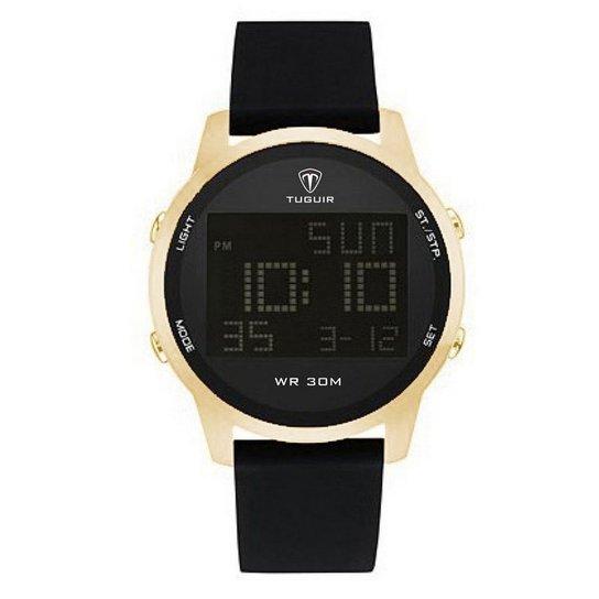 8d18cd2b7b2 Relógio Tuguir Digital TG7003 - Dourado - Compre Agora
