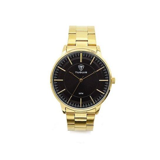 35ee66c85b9 Relógio Tuguir Analógico 5000 - Dourado - Compre Agora