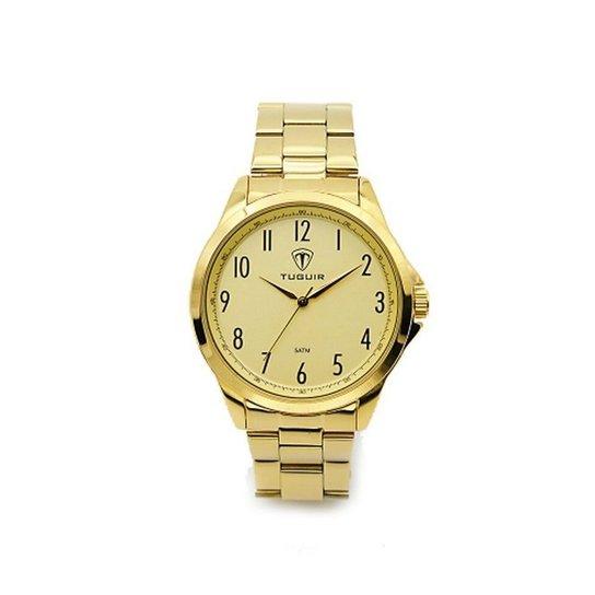 1f00c511e21 Relógio Tuguir Analógico 5026 - Dourado - Compre Agora