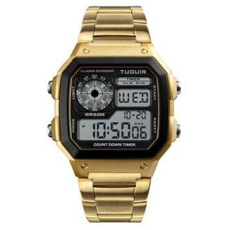01cffac7899 Compre Relogio Masculino Dourado Online