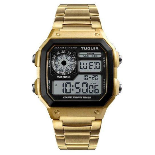 54f204814cd Relógio Romaplac Tuguir Digital - Dourado - Compre Agora