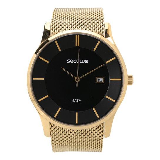 6e03aeddeed Relógio Seculus Analógico Masculino 20430GPSVDA1 - Compre Agora ...