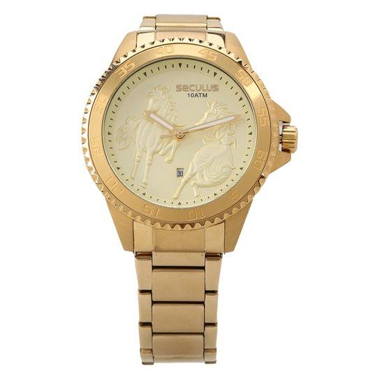81003f2db13 Relógio Seculus Analógico Feminino 20411GPSVDA1 - Compre Agora ...