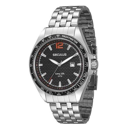 ae68c17448a Relógio Masculino Analógico Seculus 28359G0svna1 - Compre Agora ...