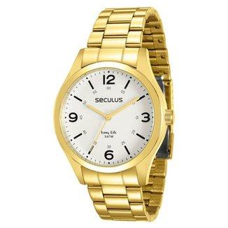 b0e78151df7 Relógio Seculus Masculino Long Life - 28891GPSVDA2