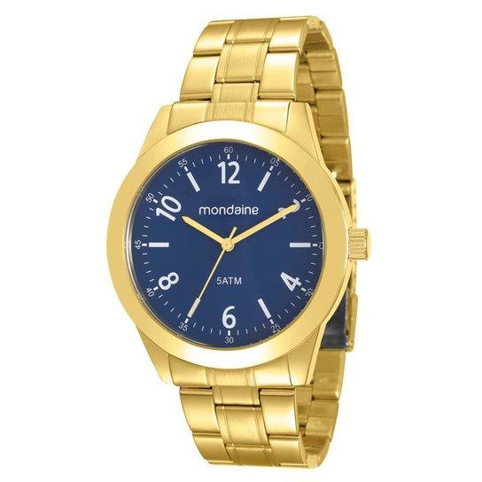 e94199411f9 Relógio Mondaine Masculino - Dourado - Compre Agora