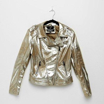 Jaqueta Queens Metalizada Feminina