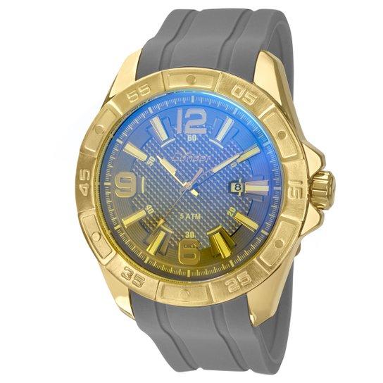 d647a685861 Relógio Condor Dourado Pulseira Silicone - Compre Agora