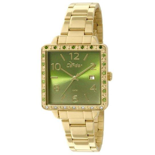 1225500c379 Relógio Condor Feminino CO2115UB K4V + Corrente e Brincos - Compre ...