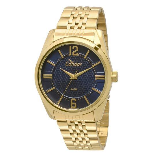 4a855aaba2d Relógio Condor Masculino CO2036DC 4A - Dourado - Compre Agora