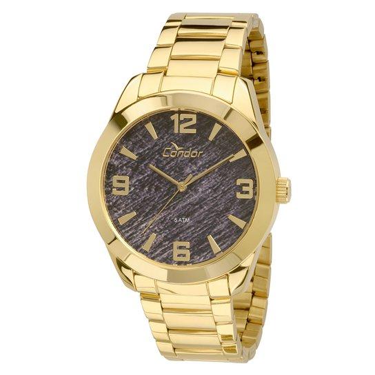 c639c7ee300 Relógio Condor Masculino CO2035KNQ 4P - Dourado - Compre Agora ...
