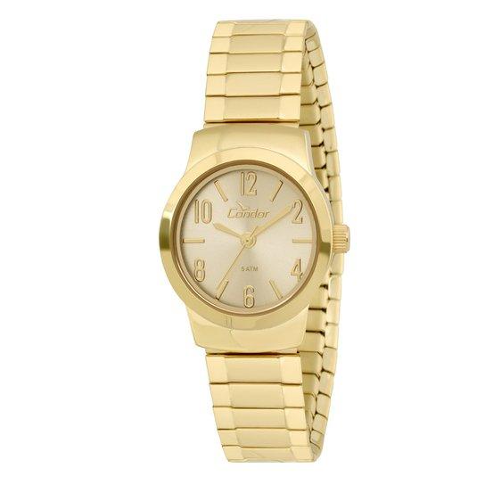 72e5001b218 Relógio Condor Feminino - Dourado - Compre Agora