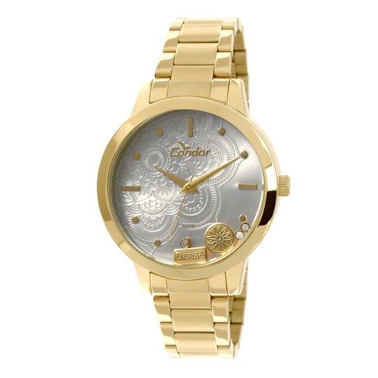fd957e896af Relógio Condor Mandala Prata - Compre Agora