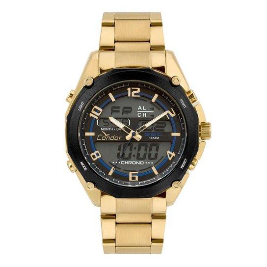 Relógio Condor Masculino Anadigi - COY121E6AA 4P COY121E6AA 4P - Dourado d9a5251f5b