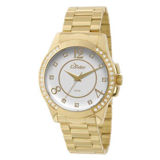 5da355d5642 Relógio Condor Feminino Bracelete - CO2036CH 4K CO2036CH 4K - Compre ...