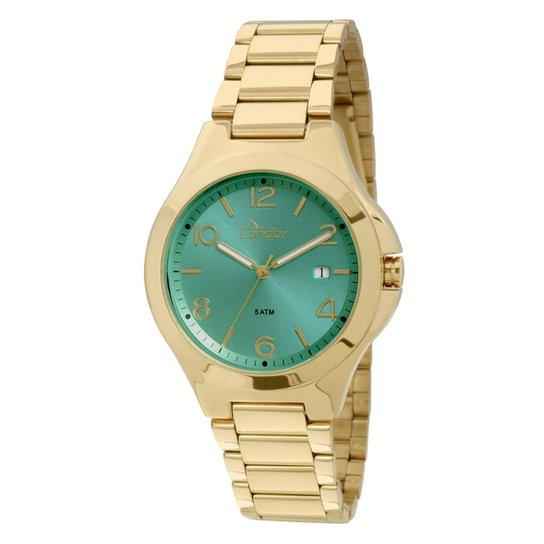 5a0273bd91b Relógio Condor Feminino CO2115SW 4V CO2115SW 4V - Dourado - Compre ...