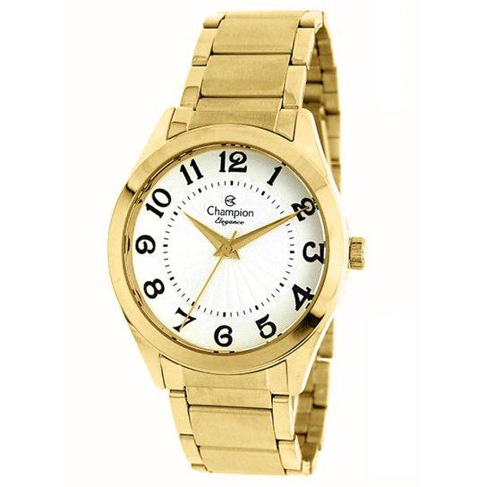 b5d16def389 Relógio Champion Analógico CN25029H - Dourado - Compre Agora