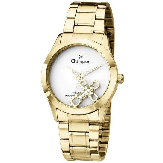 e6979ece14c Relógio Champion Feminino Passion Ch25909H - Dourado - Compre Agora ...