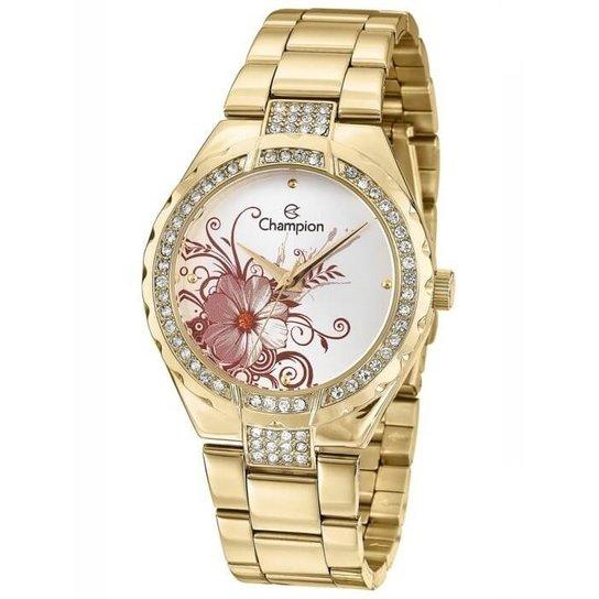 c64d07523d0 Relógio Champion Feminino Passion Cn29543H - Dourado - Compre Agora ...