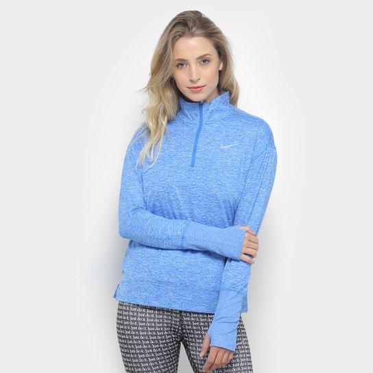 28561c0a9e5 Jaqueta Nike Element Top HZ Feminina - Azul - Compre Agora
