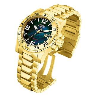 5cc3392327a Relógio Invicta 15329 Excursion 50mm Banhado a ouro 18k. Ver similares.  Confira · Relógio Invicta Excursion-6243