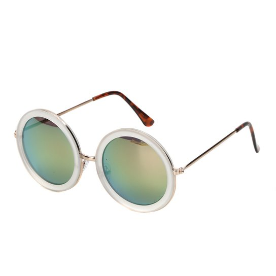 cf8b475507d75 Óculos de Sol King One A91 Feminino - Dourado - Compre Agora