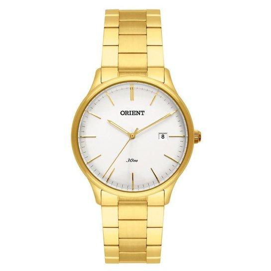 f07acf6e76 Relógio Orient Masculino - MGSS1146 S1KX - Dourado - Compre Agora ...