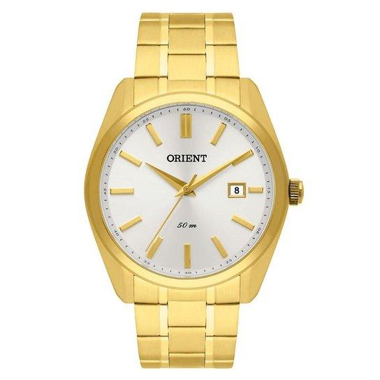 9395de4e3ac Relógio Orient Masculino - MGSS1148 S1KX - Dourado - Compre Agora ...