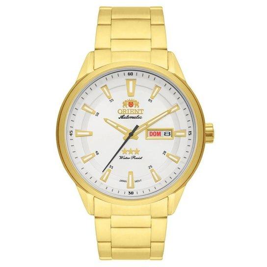 642607837b8 Relógio Orient Automatic Masculino - Dourado - Compre Agora